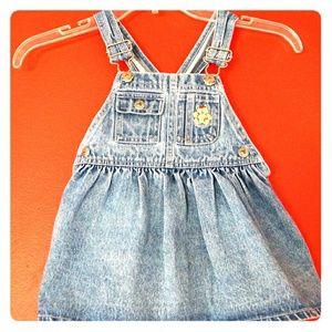 Arizona Jean Company overall skirt